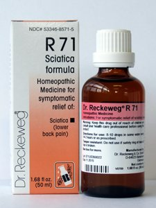 Sciatica Formula R71 50 ml by Dr. Reckeweg