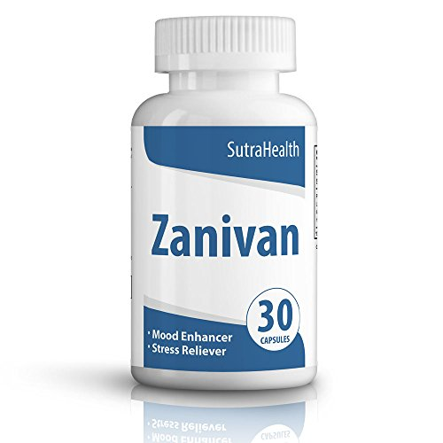 Zanivan Anxiety Relief, Stress Relief, Anti-Depressant – Safe and Effective – 30 Capsules