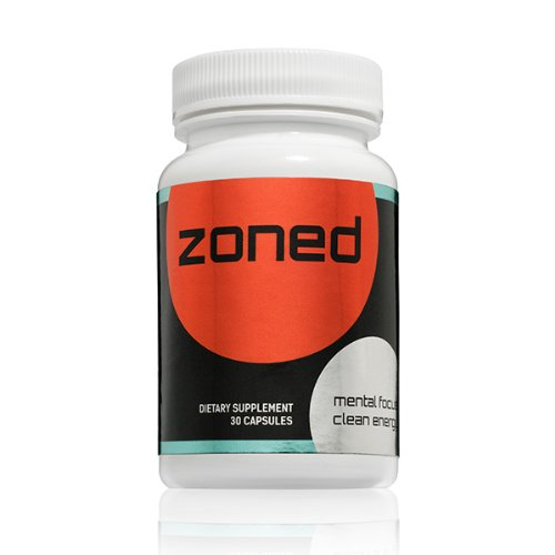 Zoned | A True Nootropic Stack | 30ct | Mental Focus and Clean Energy Nootropics Pills For Studying and Brain Health