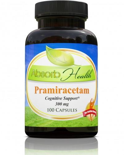 Absorb Health Pramiracetam 300mg 100 Capsules