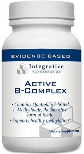 Integrative Therapeutics – NEW Active B-Complex – 60 veg. caps (Premium Packaging)