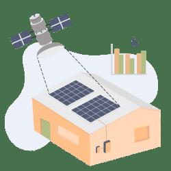 solar-ai-satellite-rooftop-assessment-vector