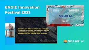 solar ai at engie innovation festival 2021