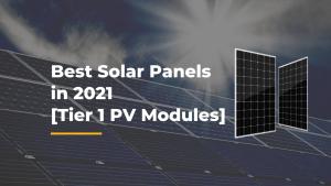 best tier 1 solar panel brands