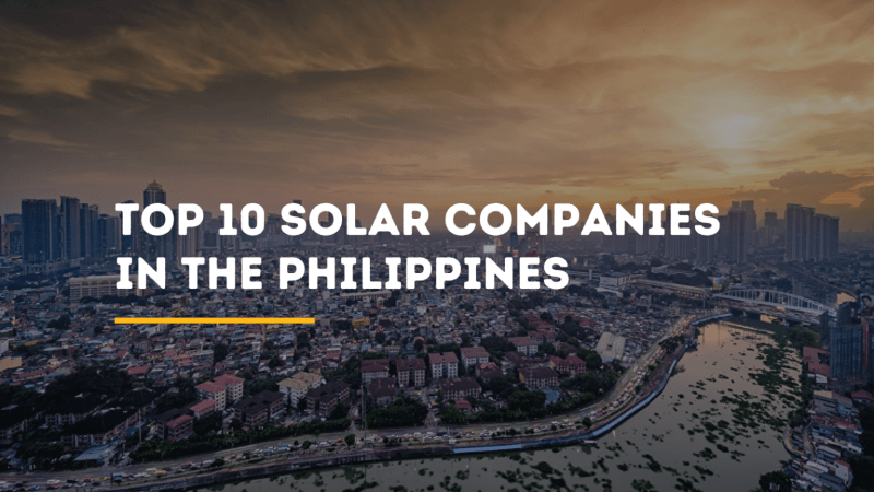 top 10 solar companies philippines