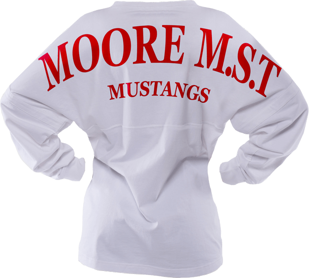 Image of a Spirit Jersey shirt for More M.S.T. Mustangs