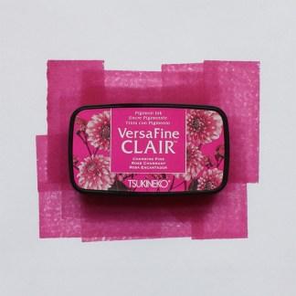 pink versafine ink pad