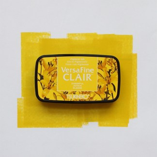 yellow ink pad
