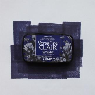 blue versafine ink pad