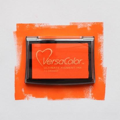 orange ink pad