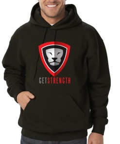 Getstrength Unisex Fleece Pullover Hoodie (American Apparel)