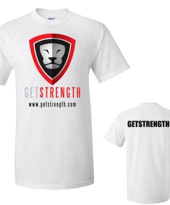 GETSTRENGTH Training T-Shirt Light (Mens)