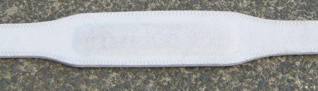 Weightlifting belt pad