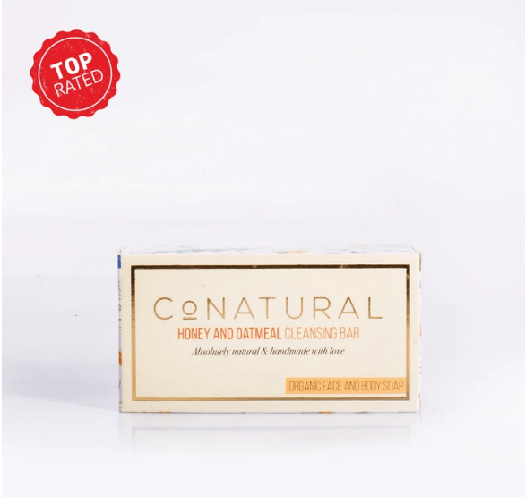 Honey And Oateal Cleansing Bar