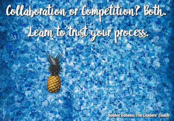 pineapple floating in pool
