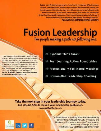 fusion leadership for people making a path not following one