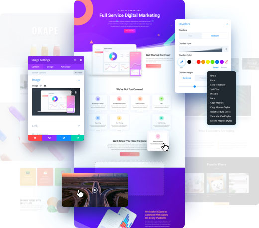 Best WordPress Premium Themes Divi theme
