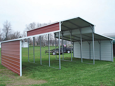 Multi Bay Carport Shelter