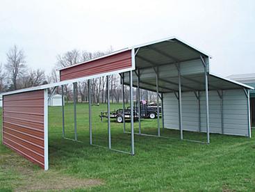 Steel Barn Shelter