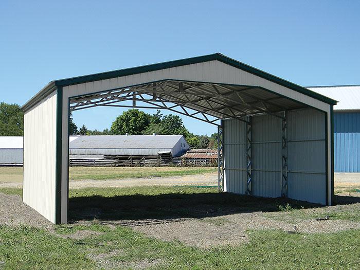 All Steel Truss Shelter