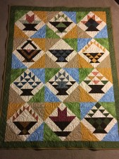 Baskets of Love Quilt