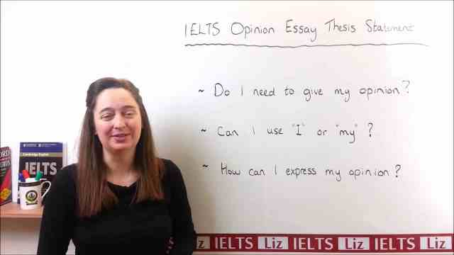 IELTS Writing Task 21 Tips: Expressing Your Opinion - Getting Down