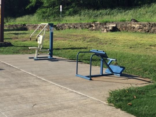 Diamond Head Out Door Gym