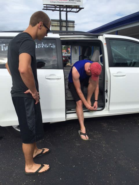 Because your toenails need to be short before running Ragnar!