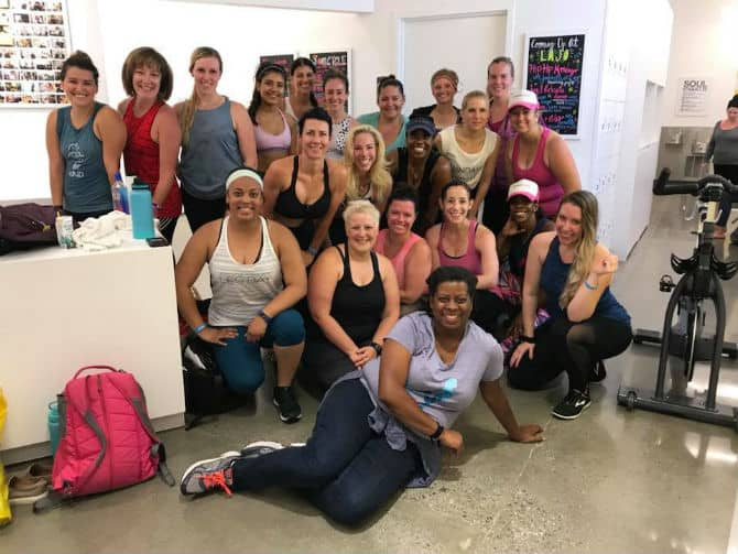 BlogFest 2018 at SoulCycle