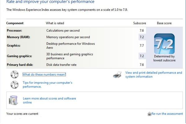 hack windows experience index