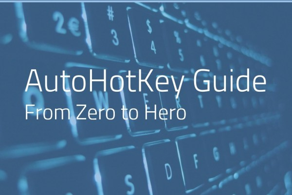 AUTOHOTKEY FOR BEGINNERS