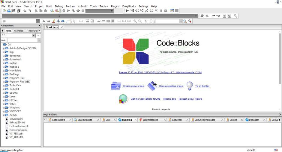 The Open Source Codeblocks