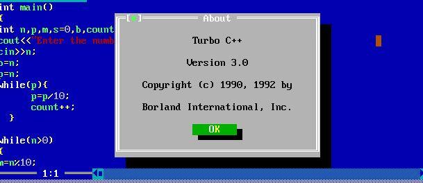Stop using Turbo C++: It is stupid