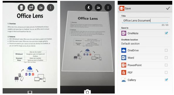 5 best Microsoft andoid apps- office lens