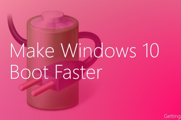 make Windows 10 boot faster