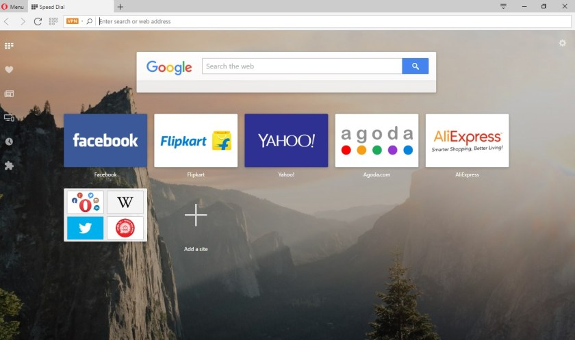 Opera is the best web browser for Windows 10