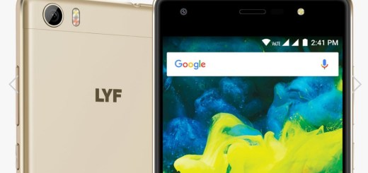 LYF F1S With 4G VoLTE Support Launched, Here are Price, Specifications and Other Details