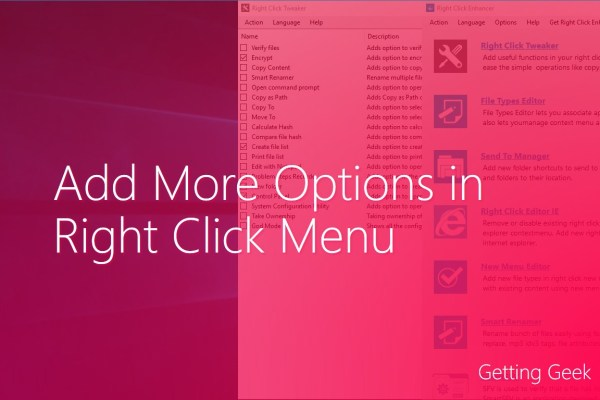 How To Add More Options in Right Click Menu in Windows 10