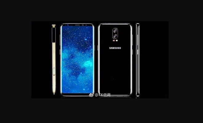 A Leaked Image of Galaxy Note 8