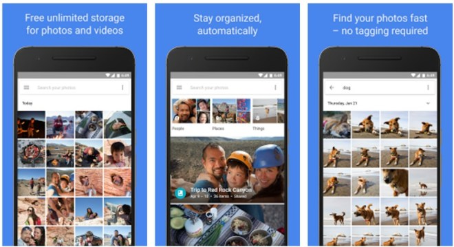 Google Photos can sync photos in Background on Android