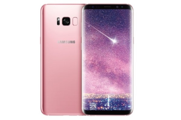 Galaxy S8 Plus Pink Version
