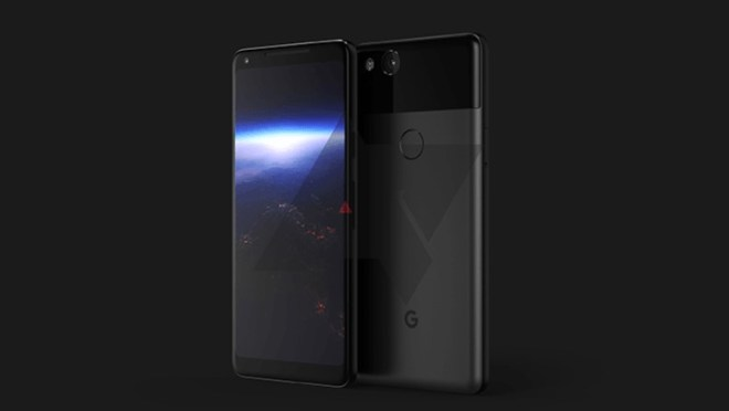 Leaked image of Google Pixel 2 | Credit: Android Authority