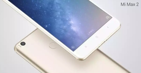Xiaomi Thinks Phablets Are Still Cool, Launches Max 2 With Giant 6.4″ Display