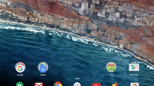 Google Now Launcher is best launcher for android tablet
