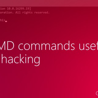 Best CMD Commands Used In Hacking