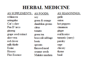 Getting Healthier with Traditional Medicines