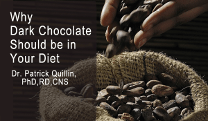 Why dark chocolate should be in your diet