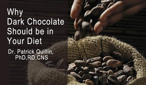 Why is dark cholat healthier than