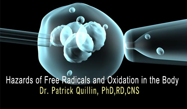 Hazards of Free Radicals and Oxidation in the Body