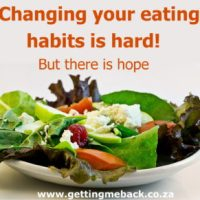 Changing eating habits is HARD!